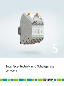 Phoenix Contact: Interface-Technik und Schaltgeraete 2017/18